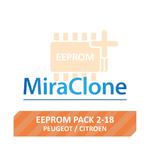 Image for EEPROM Pack 2-18 (Peugeot/Citroen, 25 modules)