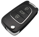 Image for Xhorse XKHY02EN Hyundai Style 3 Button Universal Wired Flip Remote